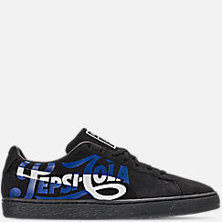 Men's Puma Suede Classic x Pepsi Casual Shoes