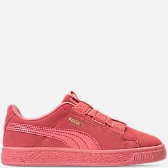 Girls' Preschool Puma Suede Maze Casual Shoes