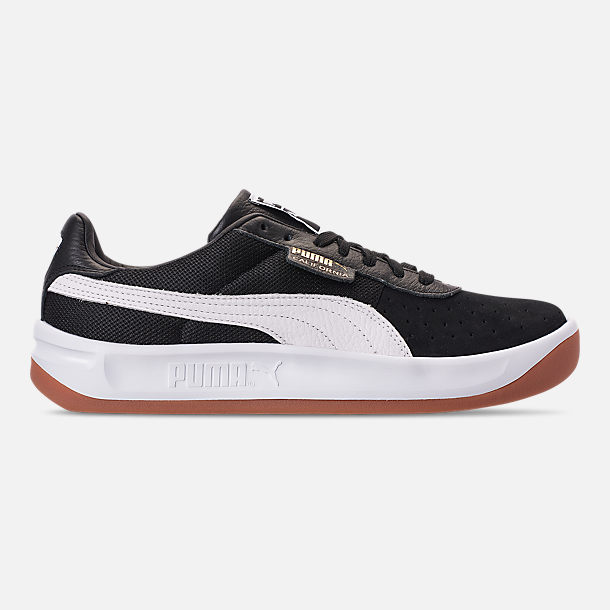 Right view of Men s Puma California Casual Shoes in Puma Black Puma White  Puma ef92a8545