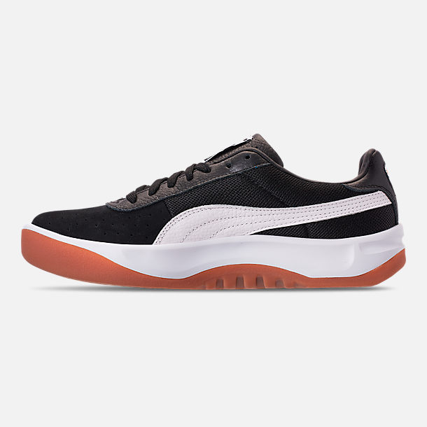22a8fa1e8429 Left view of Men s Puma California Casual Shoes in Puma Black Puma White  Puma