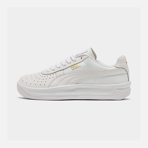 Right view of Men's Puma GV Special Plus Casual Shoes in White/White