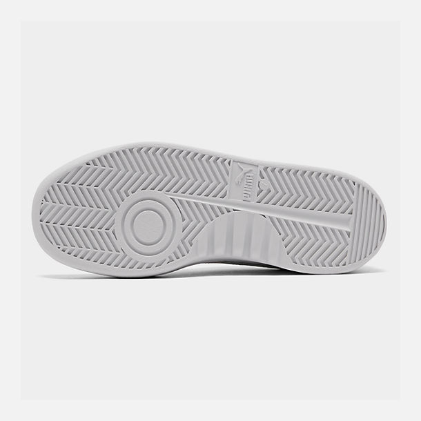 Bottom view of Men's Puma GV Special Plus Casual Shoes in White/White