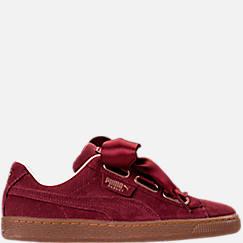Women's Puma Basket Heart Casual Shoes