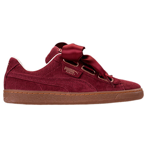 WOMEN'S BASKET HEART CASUAL SHOES, RED