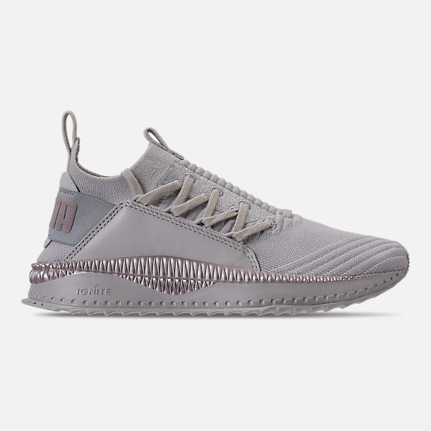 Right view of Women's Puma Tsugi Jun Metallic Casual Shoes in Puma White