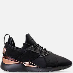 Women's Puma Muse Metallic Casual Shoes