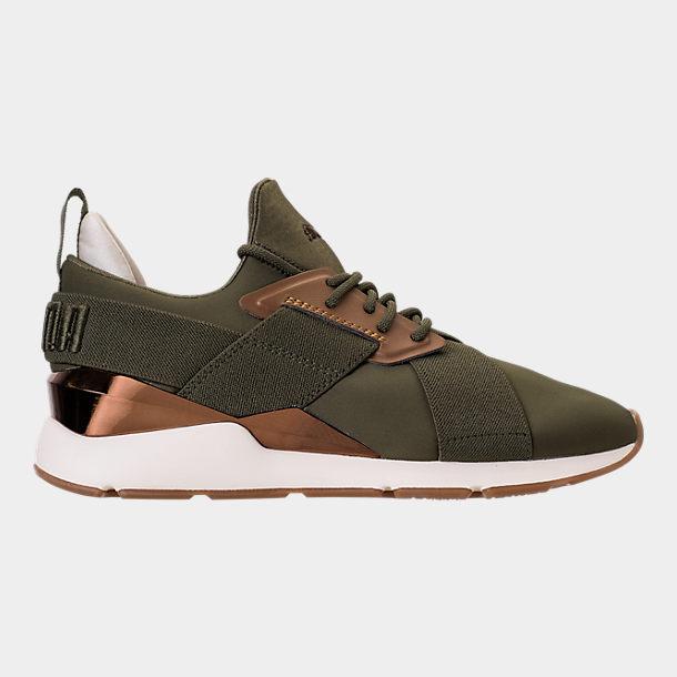 migliori scarpe da ginnastica 492a3 33a6b Women's Puma Muse Metallic Casual Shoes