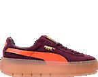 Women's Puma Suede Platform Trace Casual Shoes