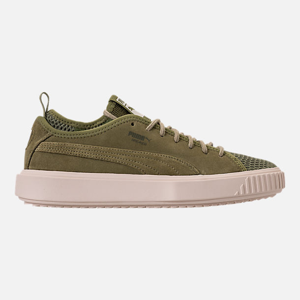 Right view of Men's Puma Breaker Mesh Casual Shoes in Capulet Olive