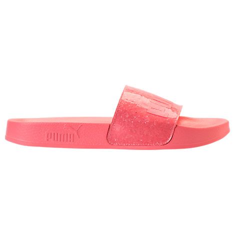 Puma Women S Leadcat Glitter Slide Sandals 69c25644be76