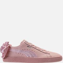 Women's Puma Basket Bow Casual Shoes
