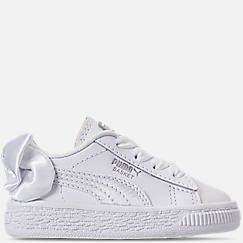 Girls' Toddler Puma Basket Bow Casual Shoes