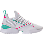 White/Knockout Pink/Biscay Green