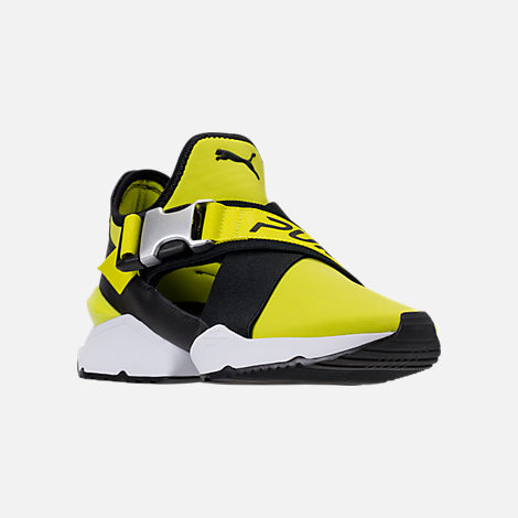 Three Quarter view of Women's Puma Muse Cutout Casual Shoes in Sulphur Spring