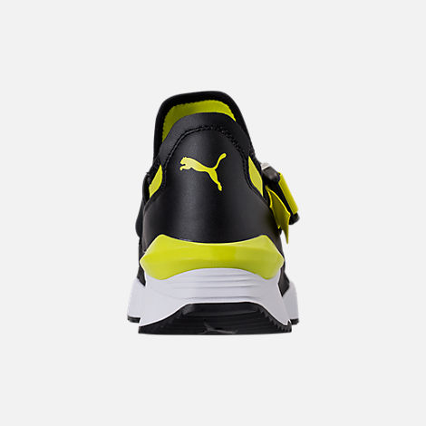 Back view of Women's Puma Muse Cutout Casual Shoes in Sulphur Spring