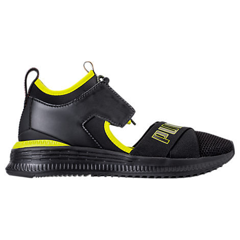 Fenty Puma X Rihanna Women'S Avid Cutout Sneakers, Black/ Lime Punch/ Black