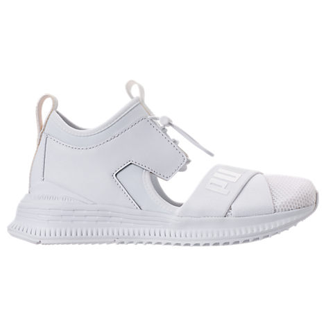 Fenty Puma X Rihanna Women'S Avid Cutout Sneakers, Puma White/ Drizzle/ White