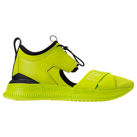 Fenty Puma X Rihanna Women'S Avid Cutout Sneakers, Lime Punch/ Black/ Lime Punch