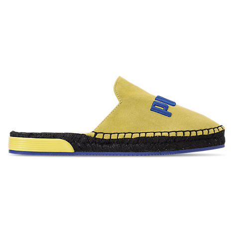 Women'S Fenty X Rihanna Espadrille Casual Shoes, Yellow