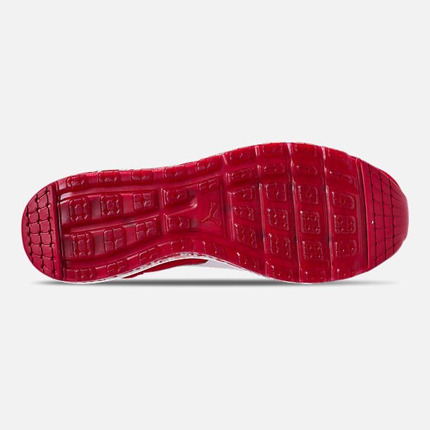 Bottom view of Men's Puma Jamming Easy Rider Casual Shoes in Ribbon Red/Puma White