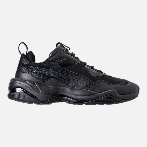 Right view of Men's Puma Thunder Desert Casual Shoes in Puma Black