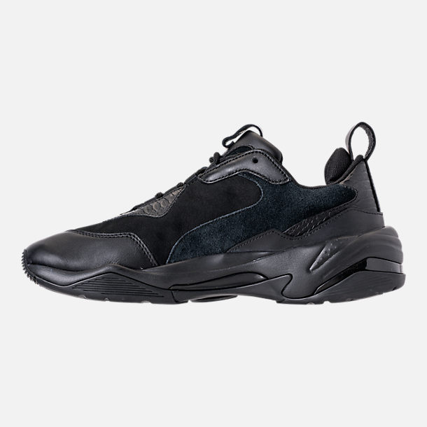 Left view of Men's Puma Thunder Desert Casual Shoes in Puma Black