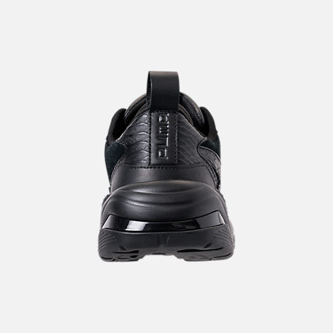 Back view of Men's Puma Thunder Desert Casual Shoes in Puma Black
