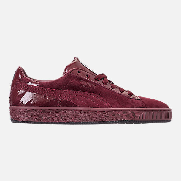 3b117c502ae Right view of Women s Puma Suede Classic x Mac Three Casual Shoes in Port  Royale