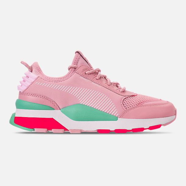 Right view of Women's Puma RS-0 Play Casual Shoes in Orchid/Biscay Green/Pink/White