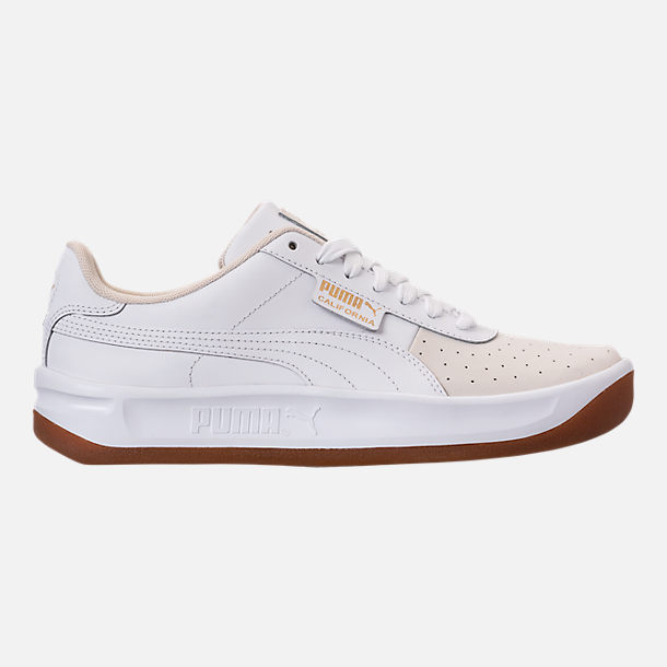 Right view of Women's Puma California Casual Shoes in Whisper White/Puma White
