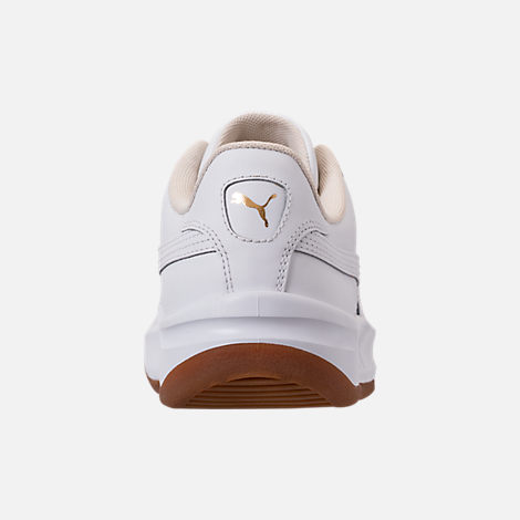 Back view of Women's Puma California Casual Shoes in Whisper White/Puma White