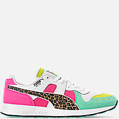Men's Puma RS-100 Animal Print Casual Shoes