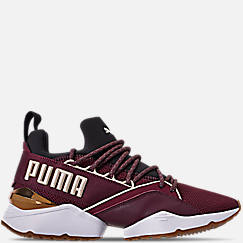 Women's Puma Muse Maia Metallic Casual Shoes