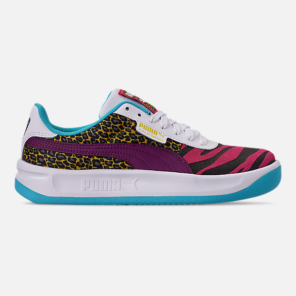 Right view of Women's Puma California Animal Casual Shoes in Multi