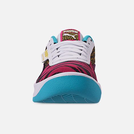 Front view of Women's Puma California Animal Casual Shoes in Multi