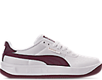 Puma White/Fig Metallic Ash