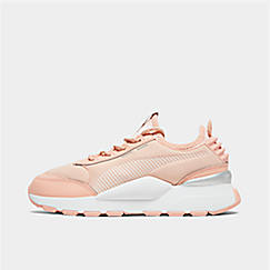 Girls' Big Kids' Puma RS-0 Trophy Casual Shoes