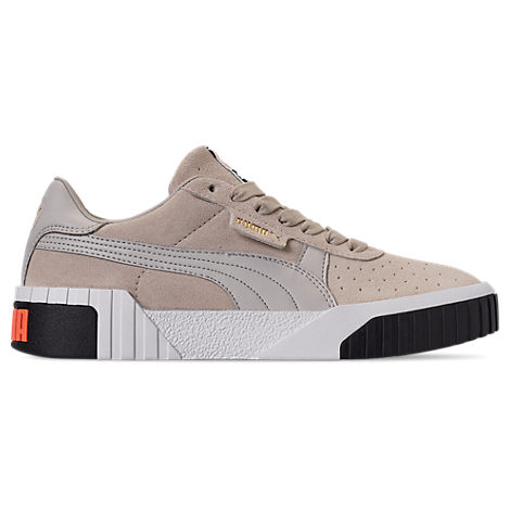Puma Women's Cali Suede Casual Shoes, Grey