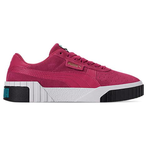 Puma Women's Cali Suede Casual Shoes, Purple