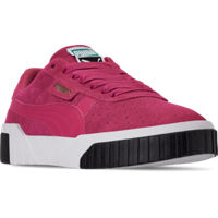 Deals on Puma Womens Cali Suede Casual Shoes