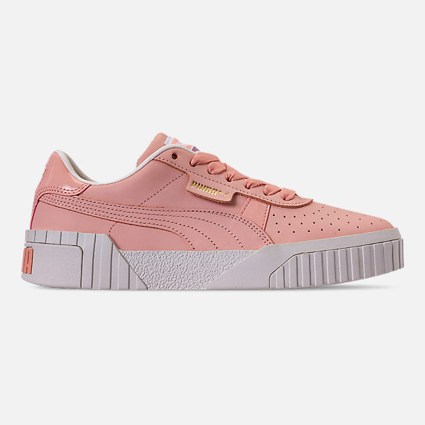 Right view of Women's Puma Cali Nubuck Casual Shoes in Peach Bud/Peach Bud