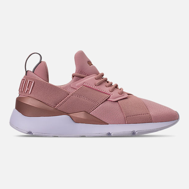 Right view of Women's Puma Muse Casual Shoes in Pink