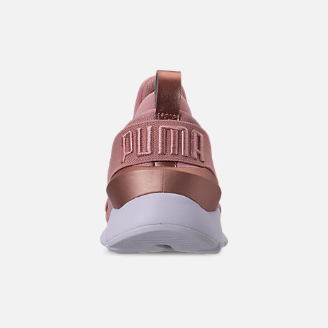 Back view of Women's Puma Muse Casual Shoes in Pink