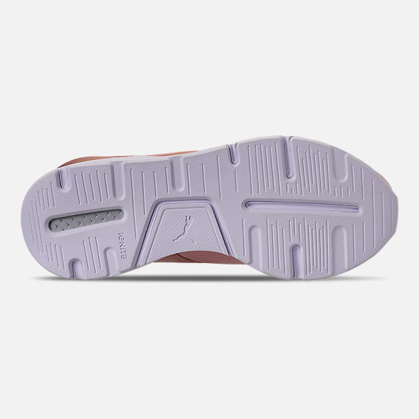 Bottom view of Women's Puma Muse Casual Shoes in Pink