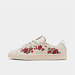 Women's Puma Basket Crush Cherry Bombs S.Tsai Casual Shoes