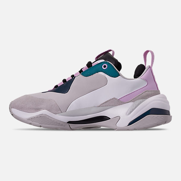 Left view of Women's Puma Thunder Rive Droite Casual Shoes in Deep Lagoon/Orchid Bloom
