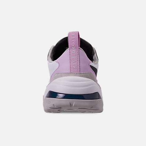 Back view of Women's Puma Thunder Rive Droite Casual Shoes in Deep Lagoon/Orchid Bloom