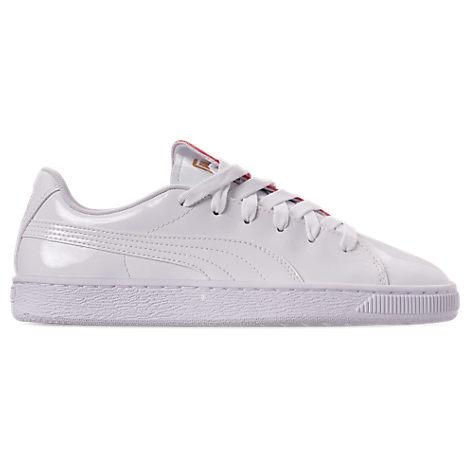 Puma Womens Basket Crush Casual Shoes, White
