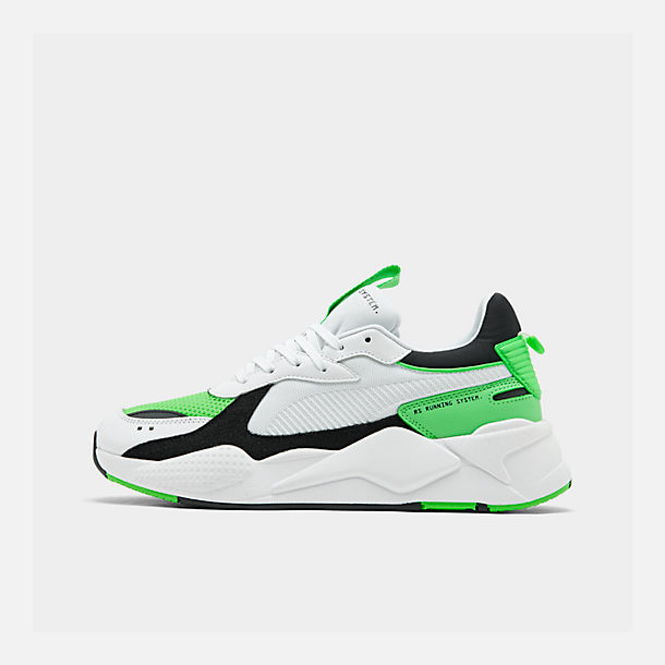 6f75d2baac75 Right view of Men s Puma RS-X Reinvention Running Shoes in Puma White Irish