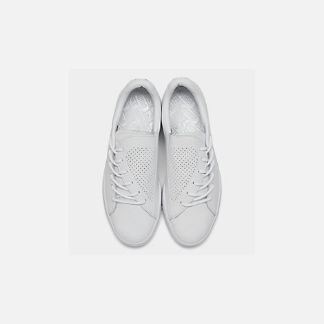 Back view of Women's Puma Basket Crush Perf Casual Shoes in White